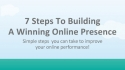 7 Steps To
