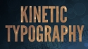 Kinetic Typography Crash