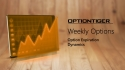 Weekly Options and study of