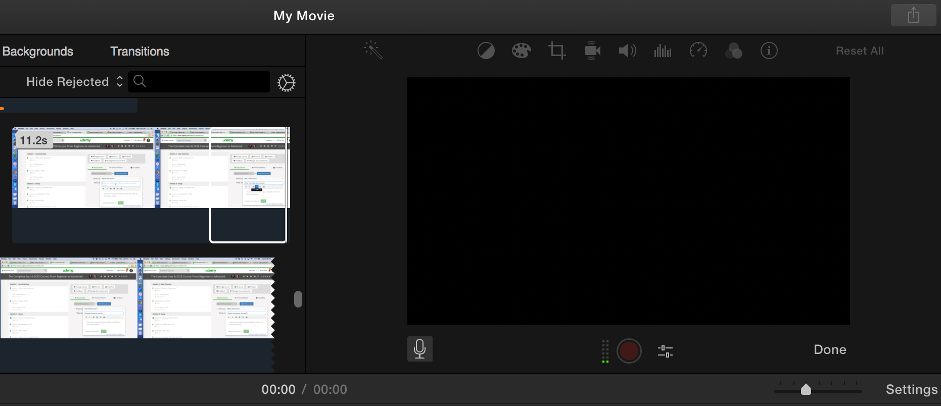 I Also Used Imovie To Edit The Screen Capture Videos (free Mac Editing  Software)