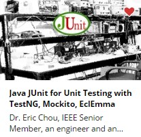 Java JUnit for Unit Testing with TestNG, Mockito, EclEmma